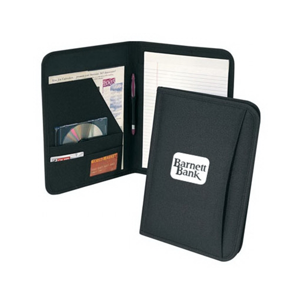 Item #B-8107 Poly Multi-Pocket Note Pad Folder