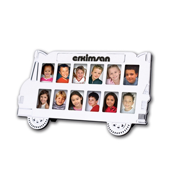 Item #FY-7002 School Bus Photo Frame
