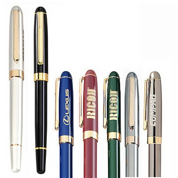 Item #PC-101R Metal Cap Off Rollerball Pen