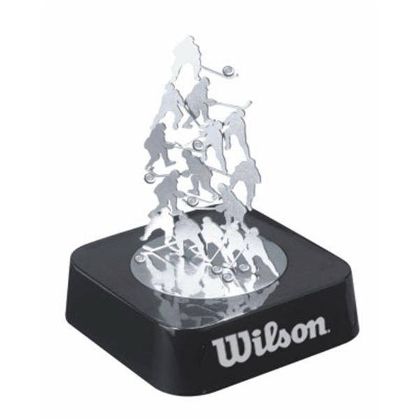 Item #TY-5002HO Hockey Magnetic Sculpture Block