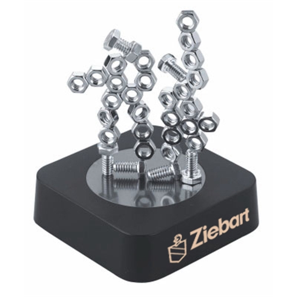 Item #TY-5002NB Nuts and Bolts Magnetic Sculpture