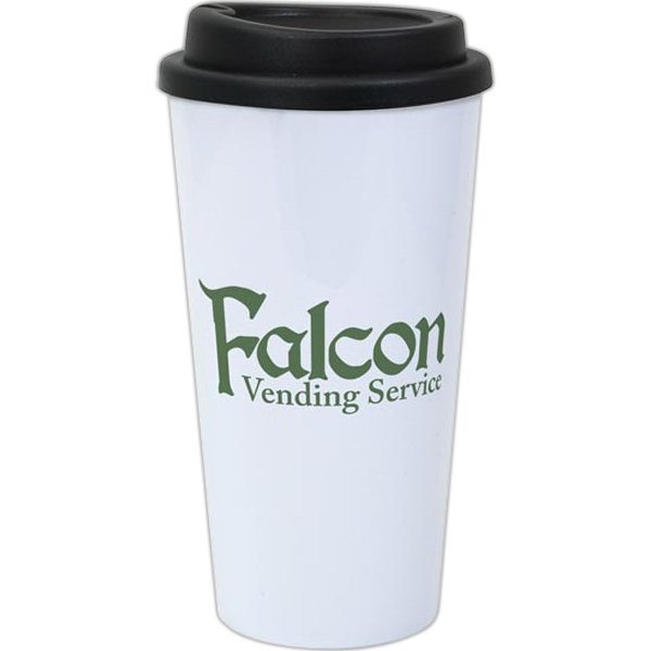 Item #488-04 Double-Wall Plastic Travel Tumbler