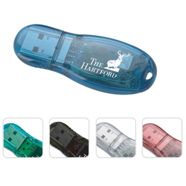 Item #USB35 Teardrop shape USB drive