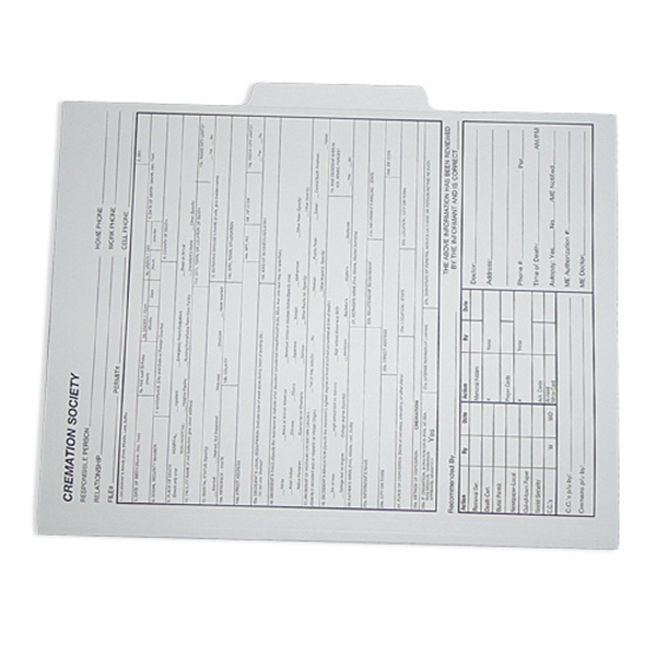 Item #09-24-002-PMS File folder with second tab position