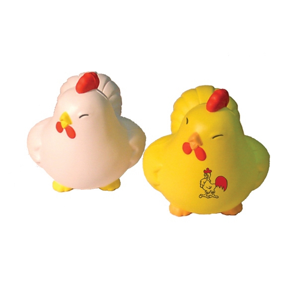 Item #ACH-12 Happy Chicken Shaped Stress Reliever