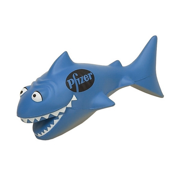 Item #AFS-04 Funny Shark Shaped Stress Reliever