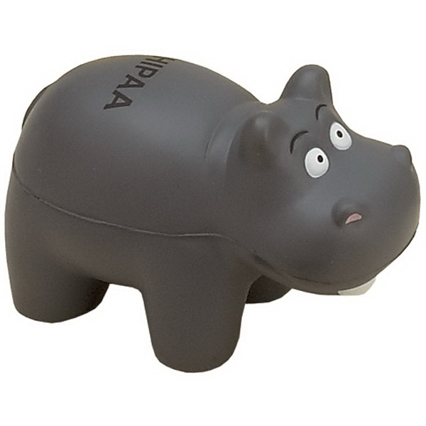 Item #AH-07 Hippo Shaped Stress Reliever