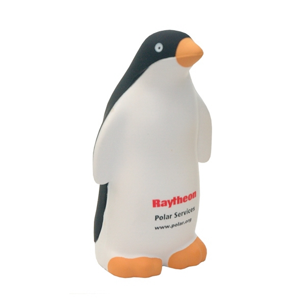 Item #APS-17 Standing Penguin Shaped Stress Reliever