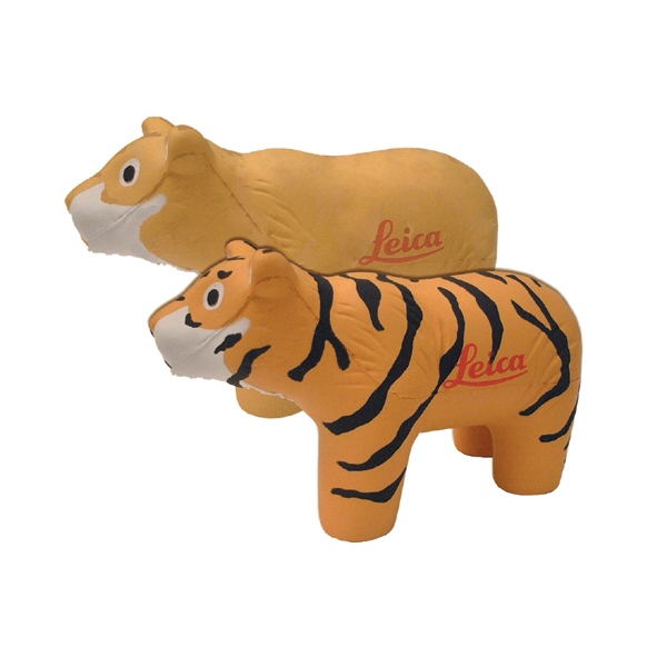 Item #AT-21 Tiger or Lion Shaped Stress Reliever