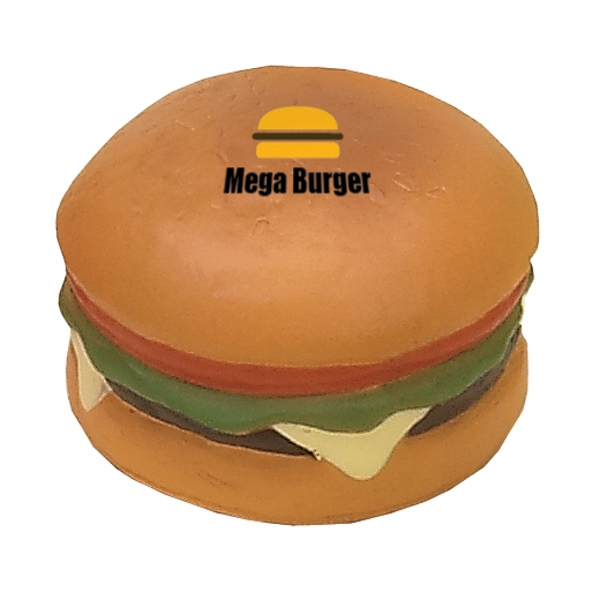 Item #FH-18 Hamburger Shaped Stress Reliever