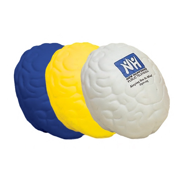 Item #HB-02 Brain Shaped Stress Reliever