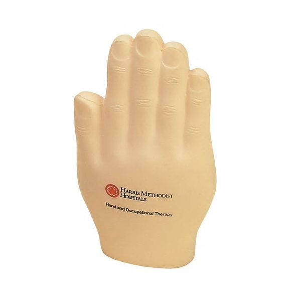 Item #HFH-19 Hand Shaped Stress Reliever