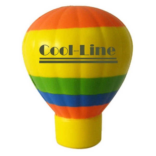 Item #MAB-22 Hot Air Balloon Shaped Stress Reliever