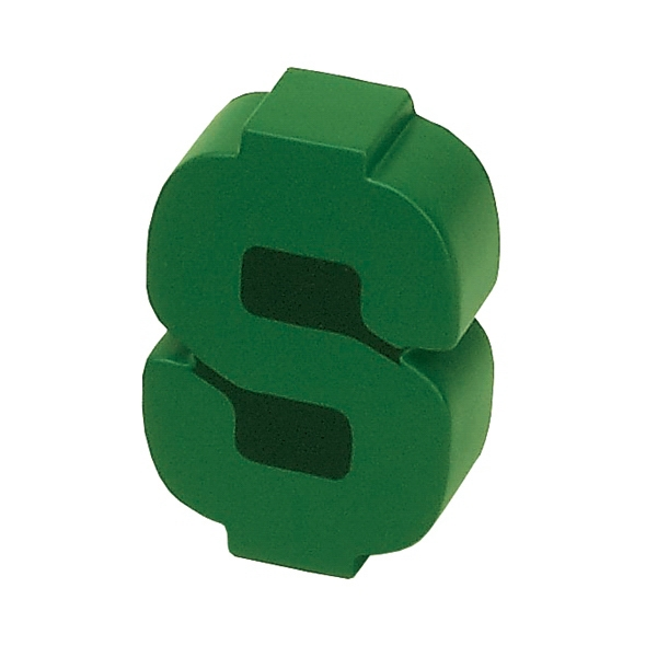 Item #MDS-27 Dollar Sign Shaped Stress Reliever