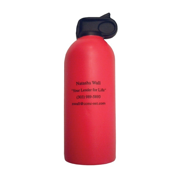 Item #MFE-15 Fire extinguisher stress reliever