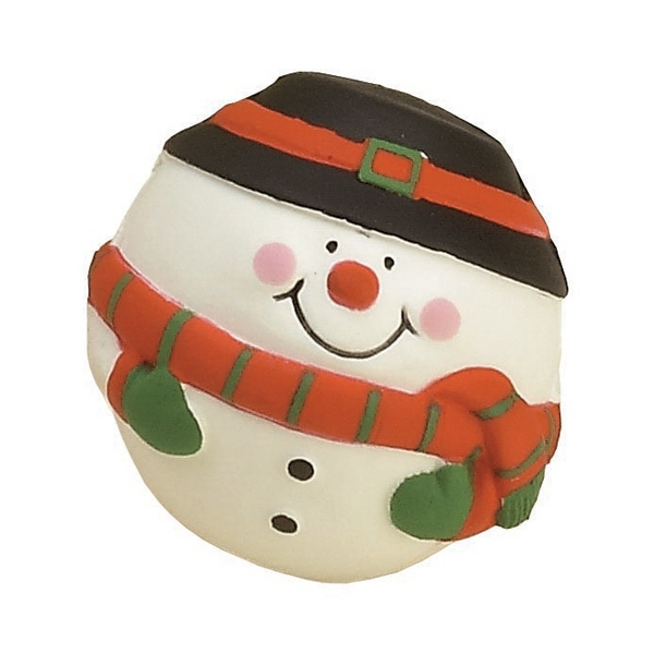 Item #MSM-20 Snowman Shaped Stress Reliever