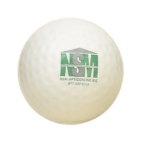 Item #SG-09 Golf Ball Shaped Stress Reliever