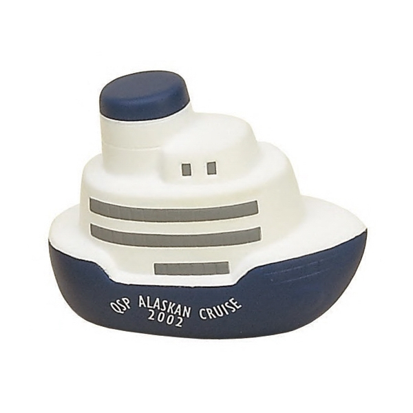 Item #TCS-04 Cruise Ship Shaped Stress Reliever