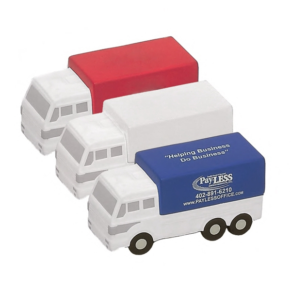 Item #TD-05 Delivery Truck Shaped Stress Reliever