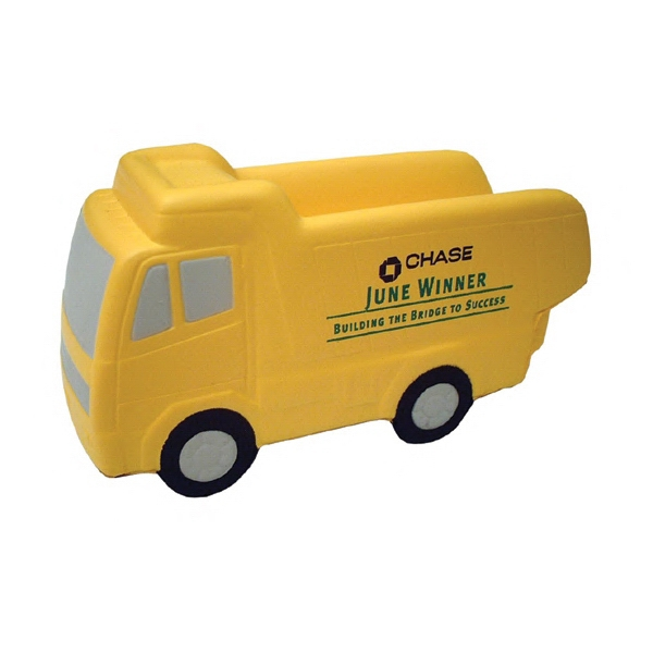 Item #TDT-12 Dump Truck Shaped Stress Reliever