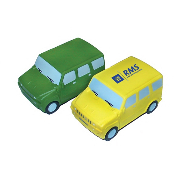 Item #THU-25 SUV Shaped Stress Reliever