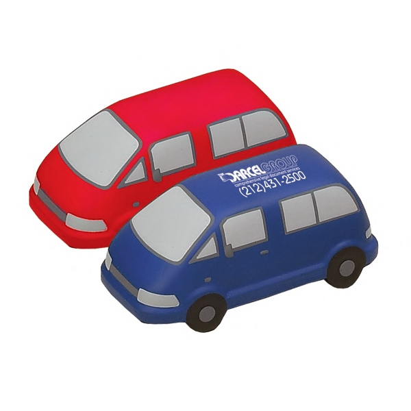 Item #TMV-15 Mini Van Shaped Stress Reliever