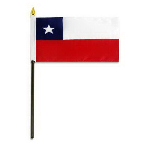 Item #FLAG 4x6 CHILE Chile Flag