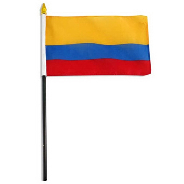 Item #FLAG 4x6 COLOM Colombia Flag
