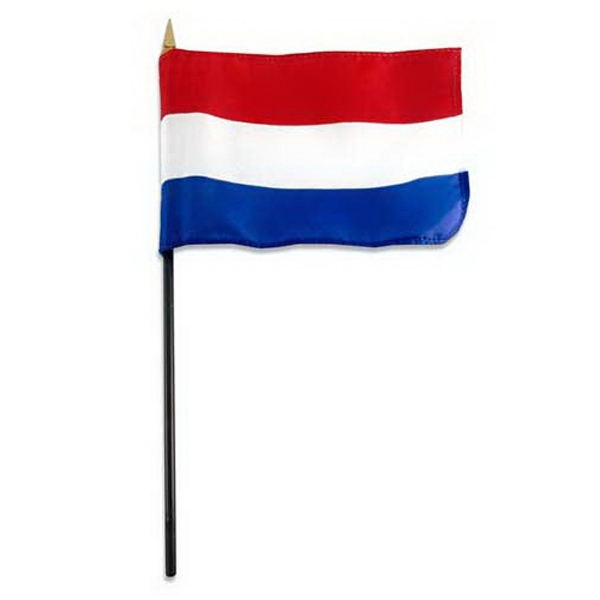 Item #FLAG 4x6 NETH Netherlands Flag