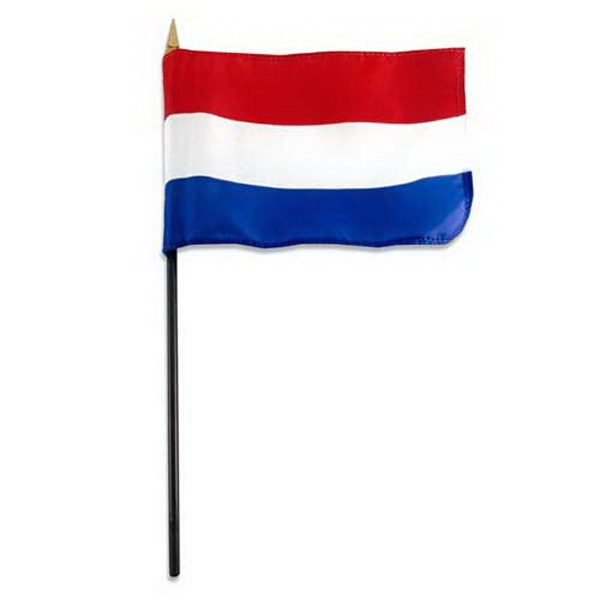 Item #FLAG 4x6 HOLL Holland Flag