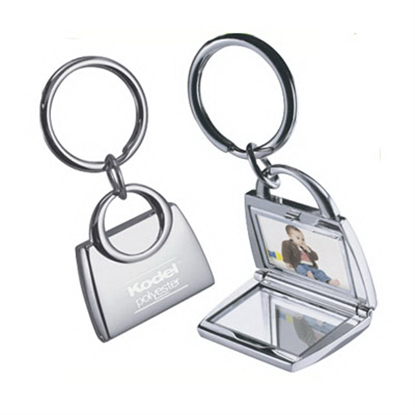 Item #KM-7046 Purse Photo Keychain