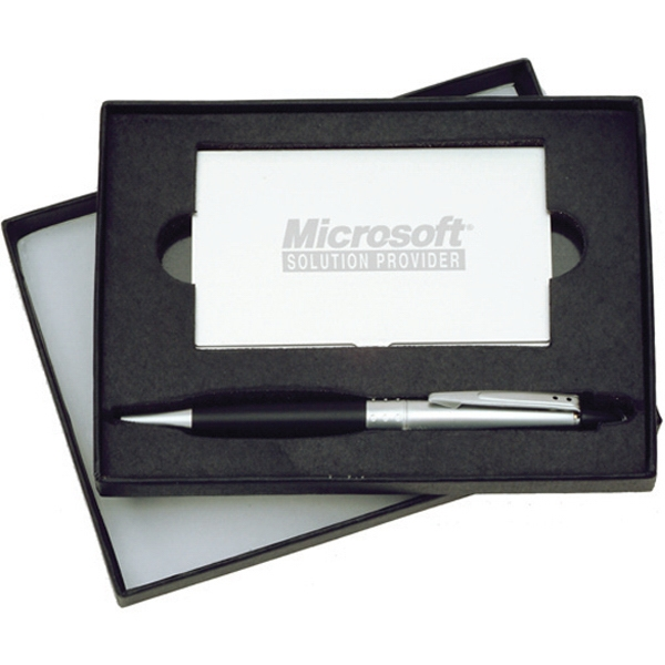Item #WA-2024 Business Card Case and Pen Gift Set