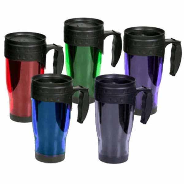 Oz Plastic Travel Mug With Handle
