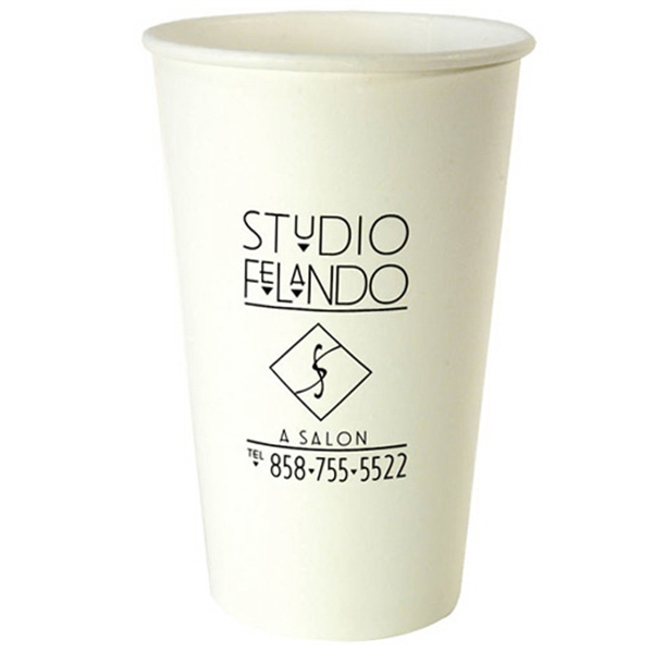 Item #3037-HS All Purpose 16 Ounce Hot Cold Paper Cup