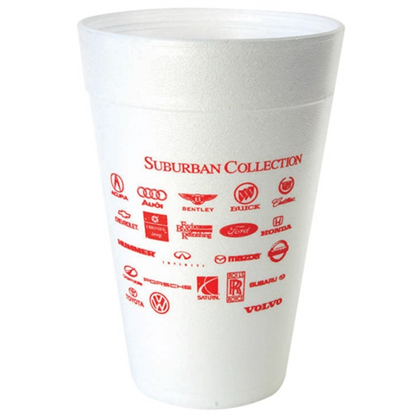 Item #3048-QS Foam Insulation 32 Ounce Hot Cold Cup