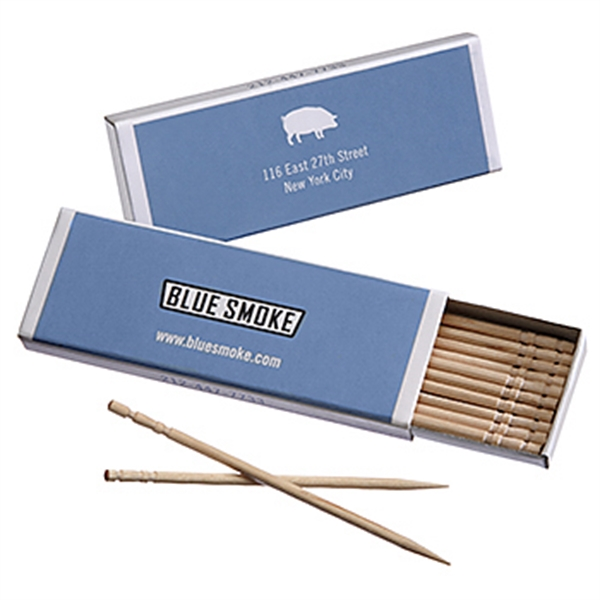 Item #4044-10 Full Length Box Toothpicks