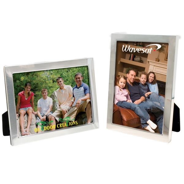 Item #8705 5 x 7 Brushed Finish Frame