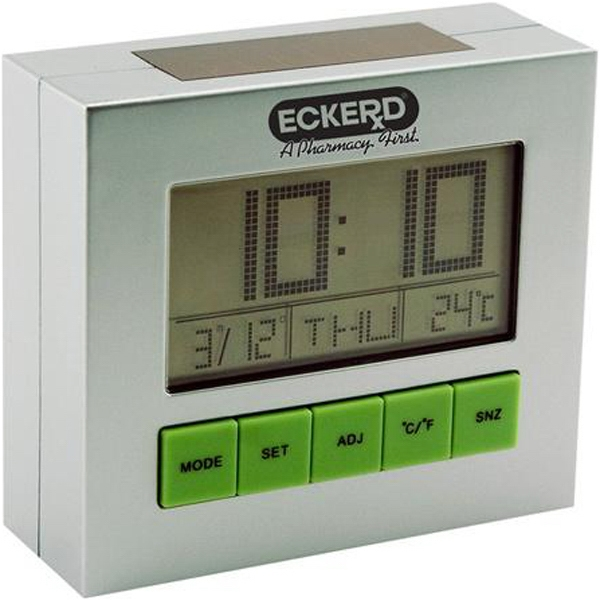Item #AD-1004 Solar powered desk clock