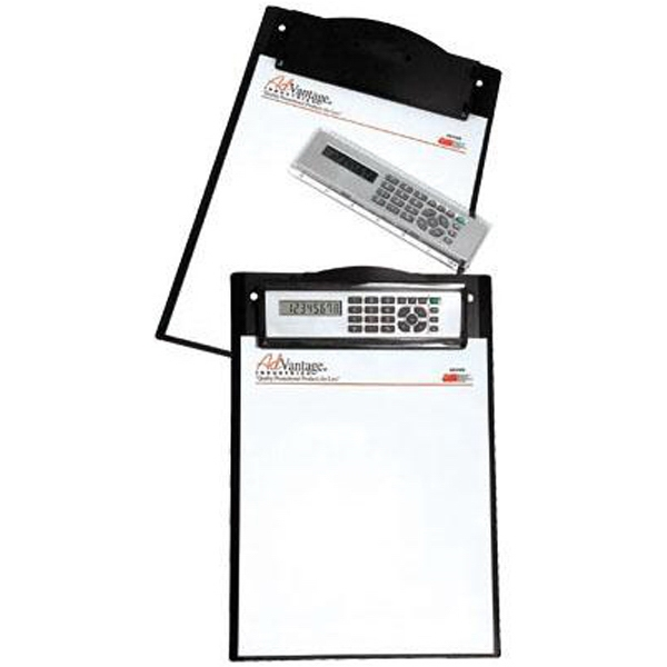 Item #AD-1365 Clipboard with removable calculator/ruler