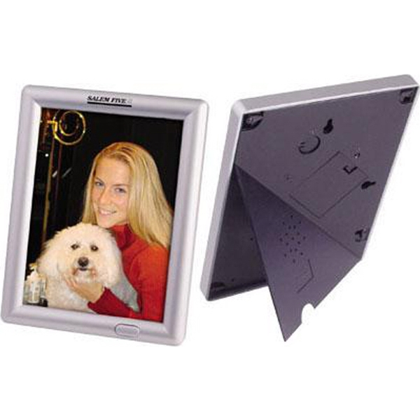 "Item #AD-1520 Recording/talking 5"" x 7"" photo frame"