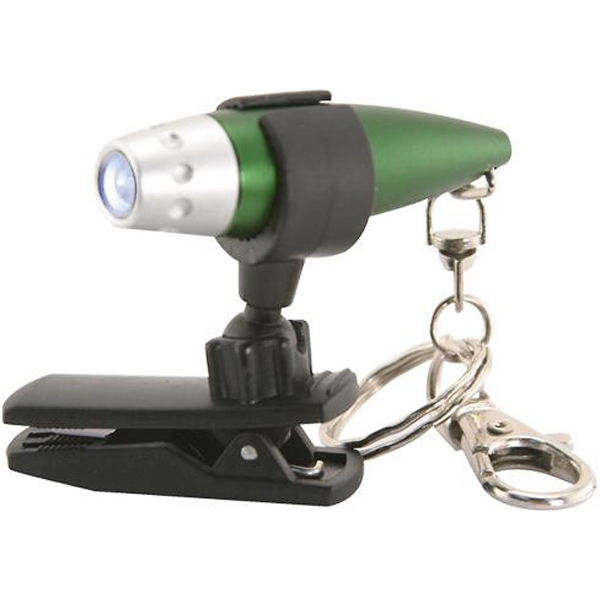 Item #AD-1686 Utility clip for bullet LED flashlight keychain