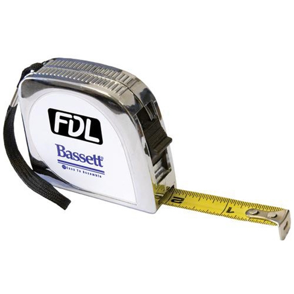 Item #AD-220 12-ft tape measure with lock