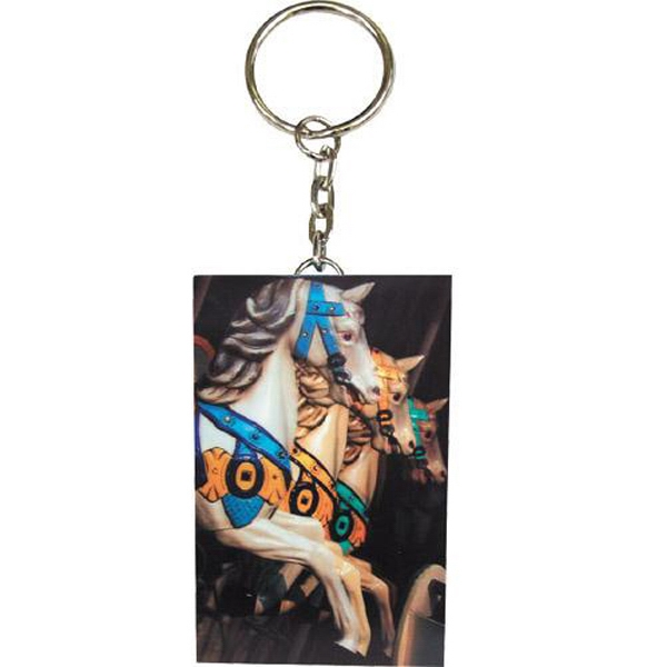 "Item #AD-2355 Lenticular 3"" key chain"