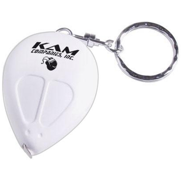 Item #AD-245 Mouse shaped tape measure keychain