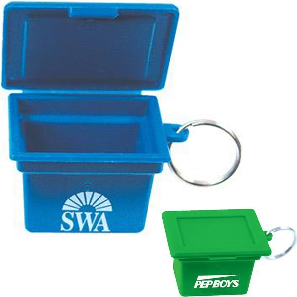 Item #AD-265 Mini recycling box key ring