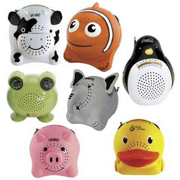 Item #AD-356 Animal Series AM/FM radio