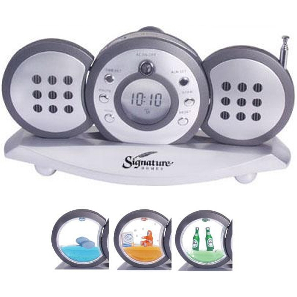 Item #AD-409 3-piece radio with detachable speakers