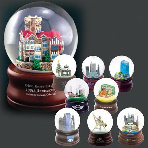 Item #AD-484 Custom polyester water globes