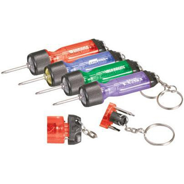 Item #AD-596 Mini light driver with keychain