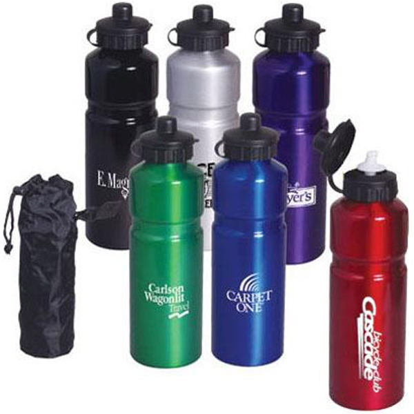 Item #AD-699 26 oz aluminum sports bottle